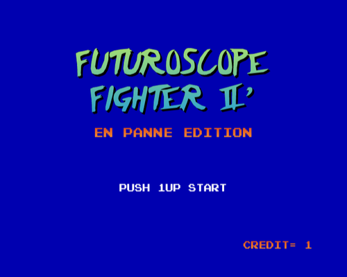 Futuroscope Fighter II' - En Panne Edition