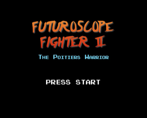 Futuroscope Fighter II - The Poitiers Warrior