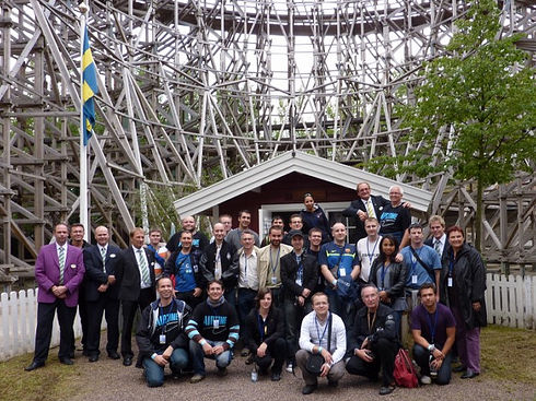 Photo de groupe Liseberg